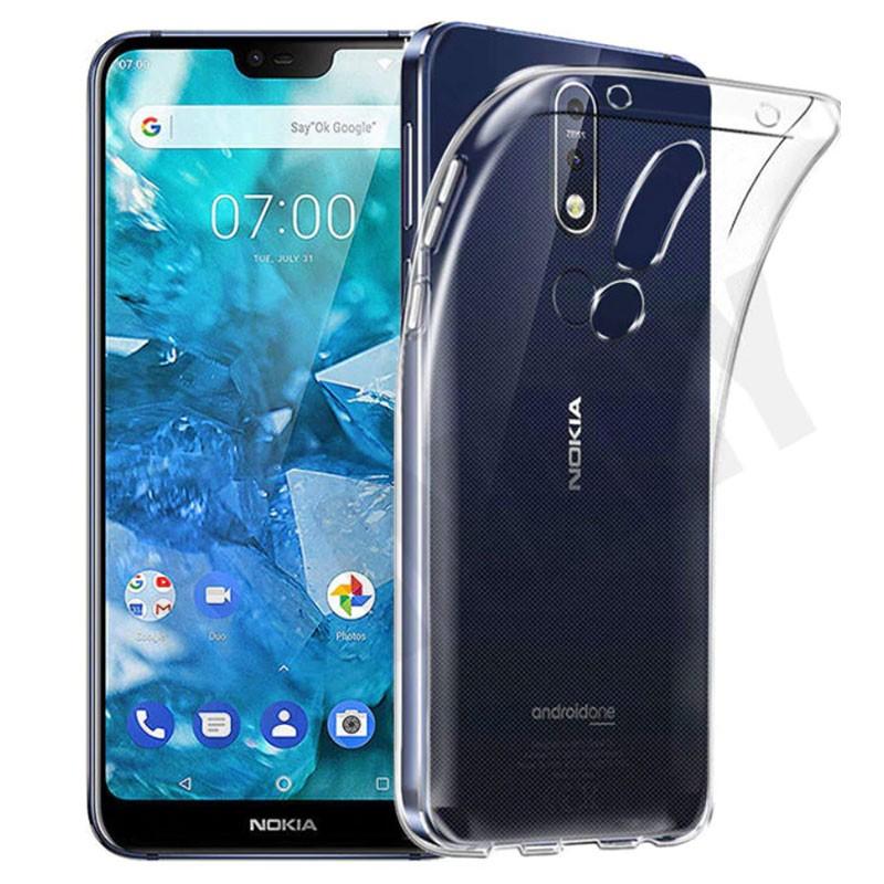 Funda de silicona para Nokia 7.1