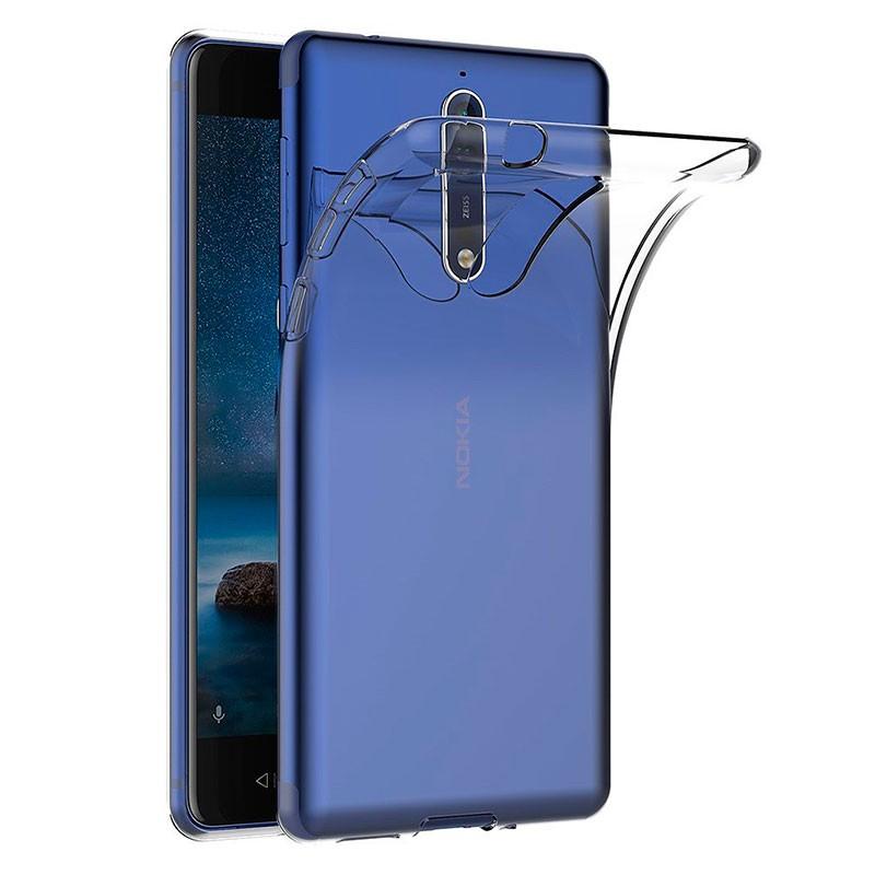 Funda de silicona para Nokia 8