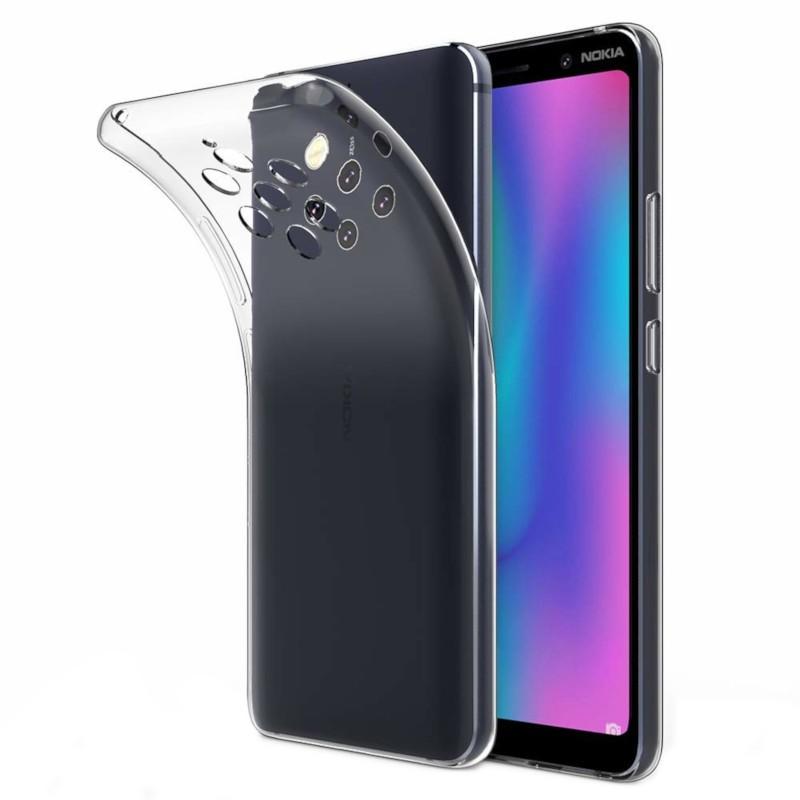 Funda de silicona para Nokia 9 Pureview