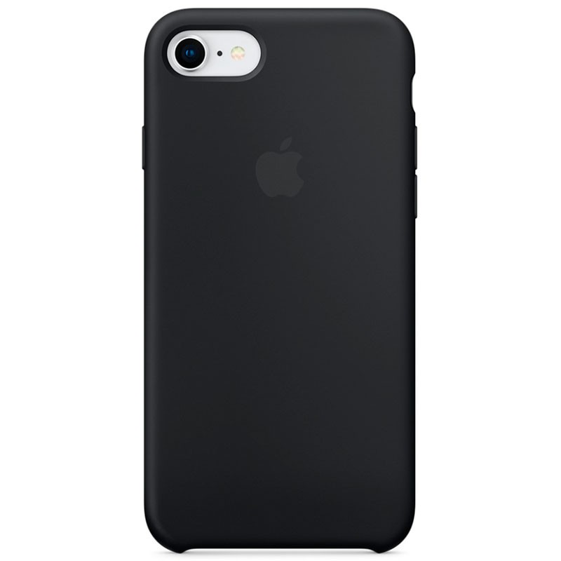 Buy Iphone 8 7 Silicone Case Black Powerplanetonline