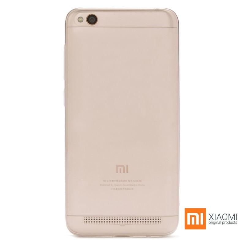 Funda de silicona Xiaomi Redmi 5A Original