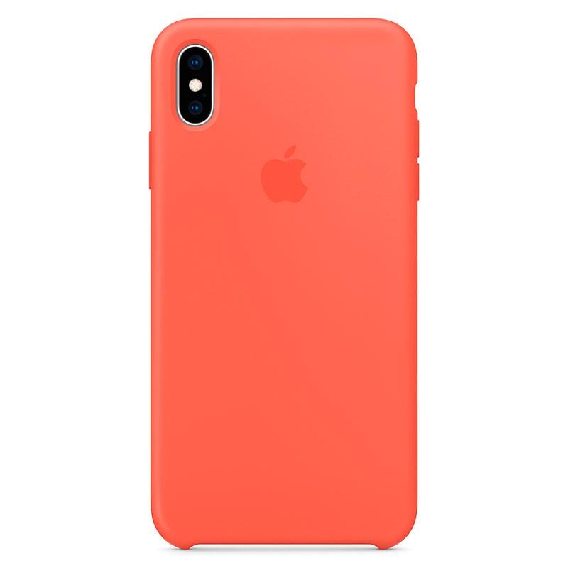 Capa em silicone para iPhone XS Max Nectarina