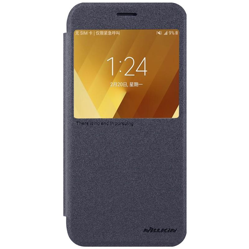 Funda de cuero Sparkle de Nillkin para Samsung Galaxy A3 2017
