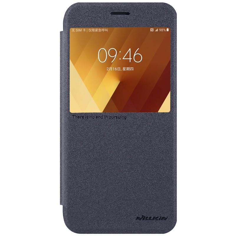Funda de cuero Sparkle de Nillkin para Samsung Galaxy A7 2017