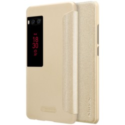 Meizu Pro 7 Nillkin Sparkle Leather Case - Item5