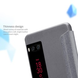 Meizu Pro 7 Nillkin Sparkle Leather Case - Item6