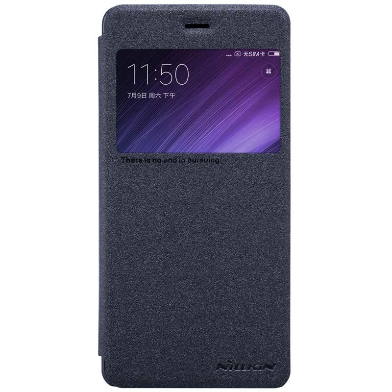 Nillkin Capa de Couro Sparkle Xiaomi Redmi 4 Pro