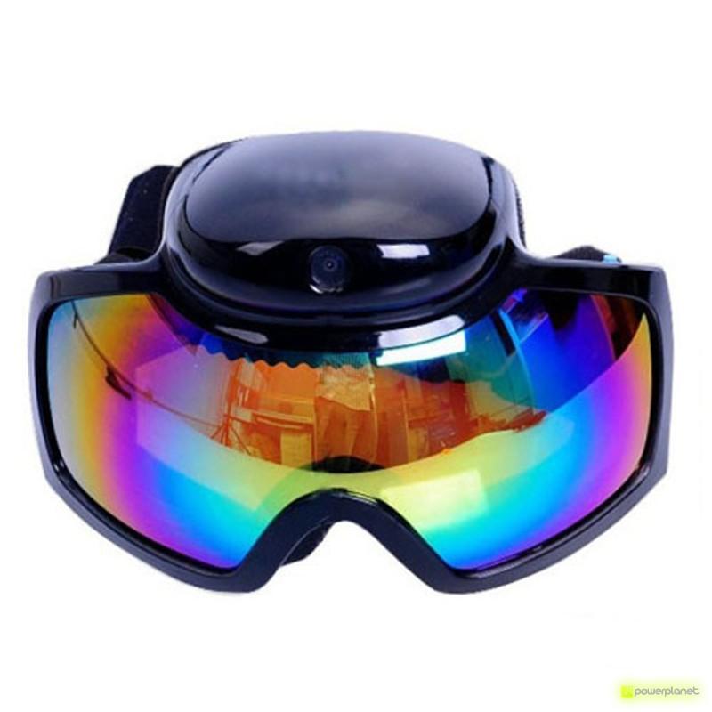 Sport Video Câmera Ski