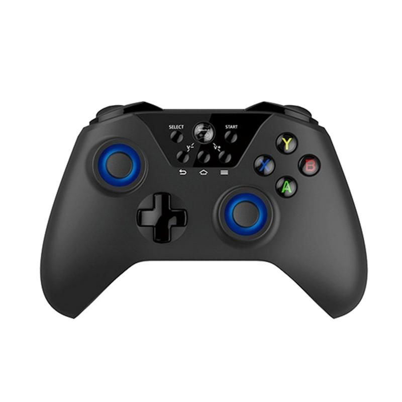 Gamepad FlyDiGi X9ET Pro - Blueooth 4.0, incluye dongle USB 2.4 inalámbrico para una mayor compatibilidad con dispositivos, incluye soporte para smartphone, funciona con 2 pilas AA, autonomía de hasta 2 meses (aproximadamente)