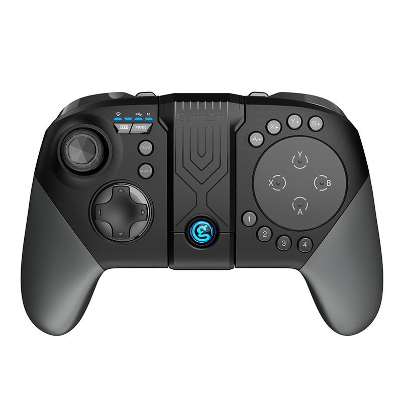 Gamepad GameSir G5 - Gamepad com trackpad táctil que permite jogar jogos MOBA e multiplayer battle royale confortavelmente, 33 botões, alavancas e botões configuráveis, autonomia de 18 horas, bluetooth 5.0, suporte para smartphones