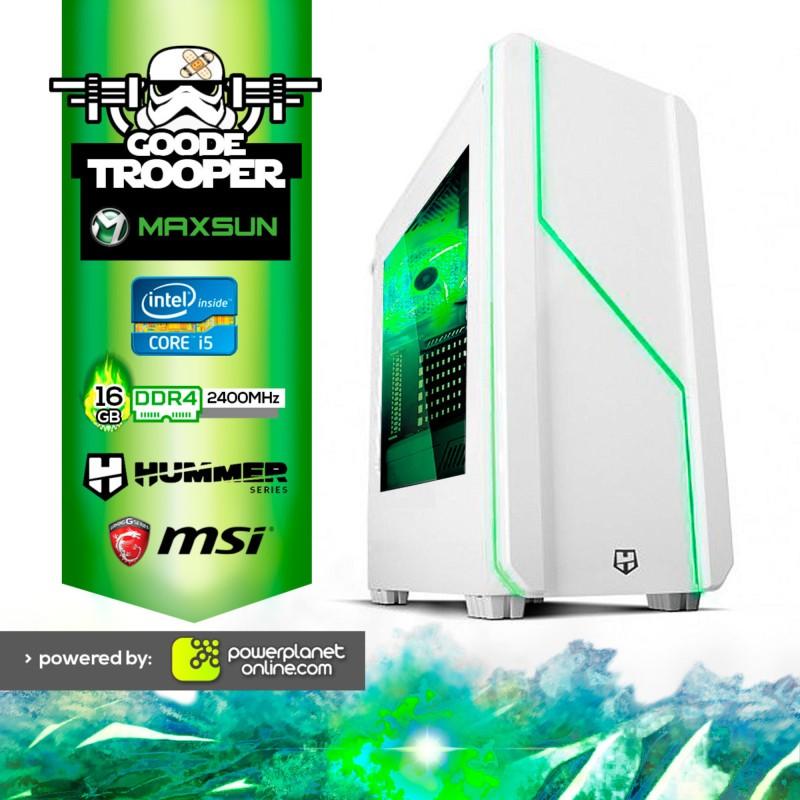 Pc Gaming Intel i5 8400/16GB/240GB/GTX1060 Goode Trooper