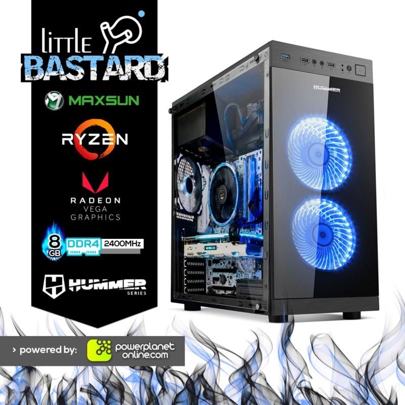 PC Gaming Ryzen 3-2200G/8GB RAM/240GB SSD+1TB/Little Bastard
