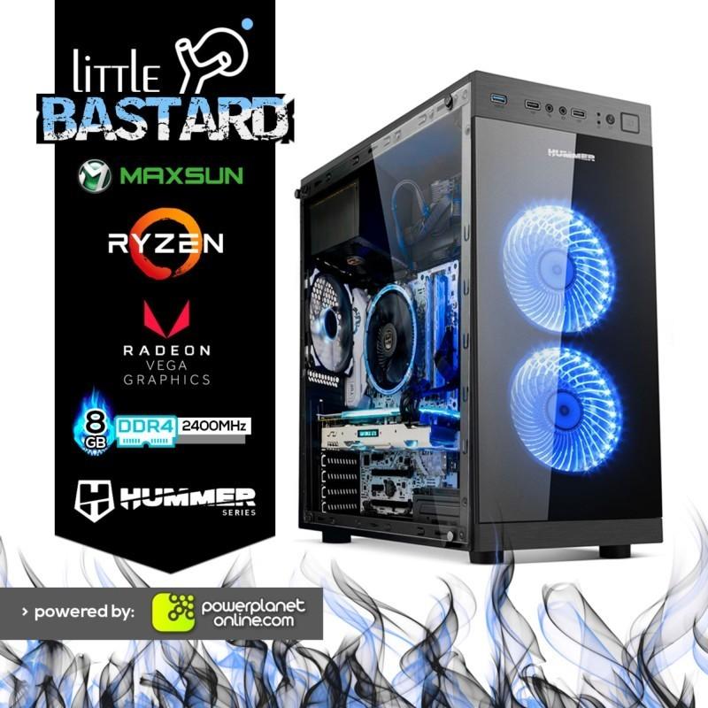 PC Gaming Ryzen 3-2200G/8GB RAM/240GB SSD/Little Bastard