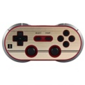 Gamepad 8bitdo F30 Pro - Área frontal do gamepad; botões mapeados, dois joysticks, crosshead, gatilhos (conexão sem fio compatível com switch, pc, etc.) - Item