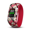 Garmin Vívofit JR 2 Minnie Mouse Red - Interactive Smartband - Special for Children - Daily Aims - Alerts - Remote Control - Smartphone Synchronization - Strong 5ATM - Special Design Minnie Mouse