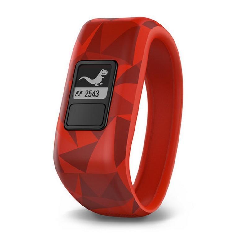 Garmin Vívofit JR Vermelho Lava - Smartband especial para crianças com lentes interativas programáveis