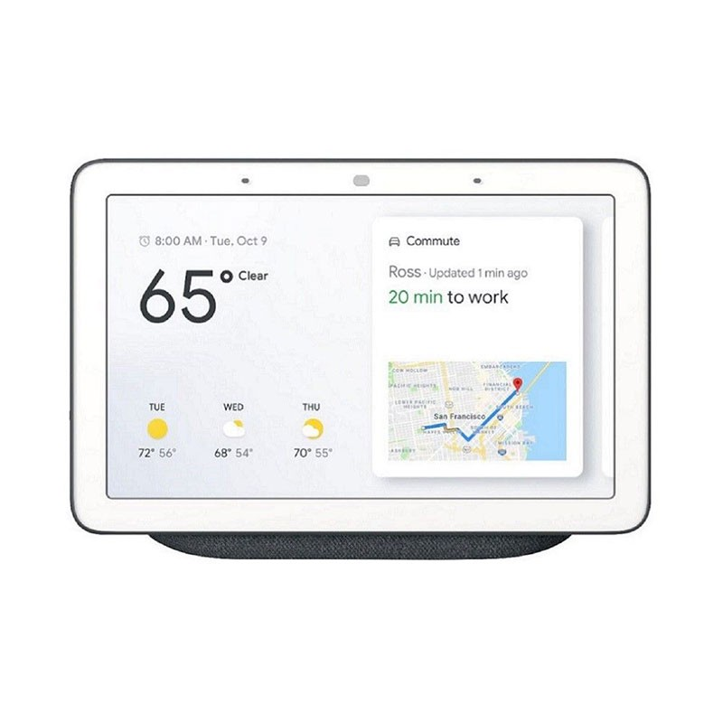Google Home Hub Gris Charcoal - Asistente Smart Home