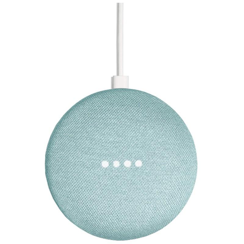 Google Home Mini Azul Aqua - Altavoz Inteligente