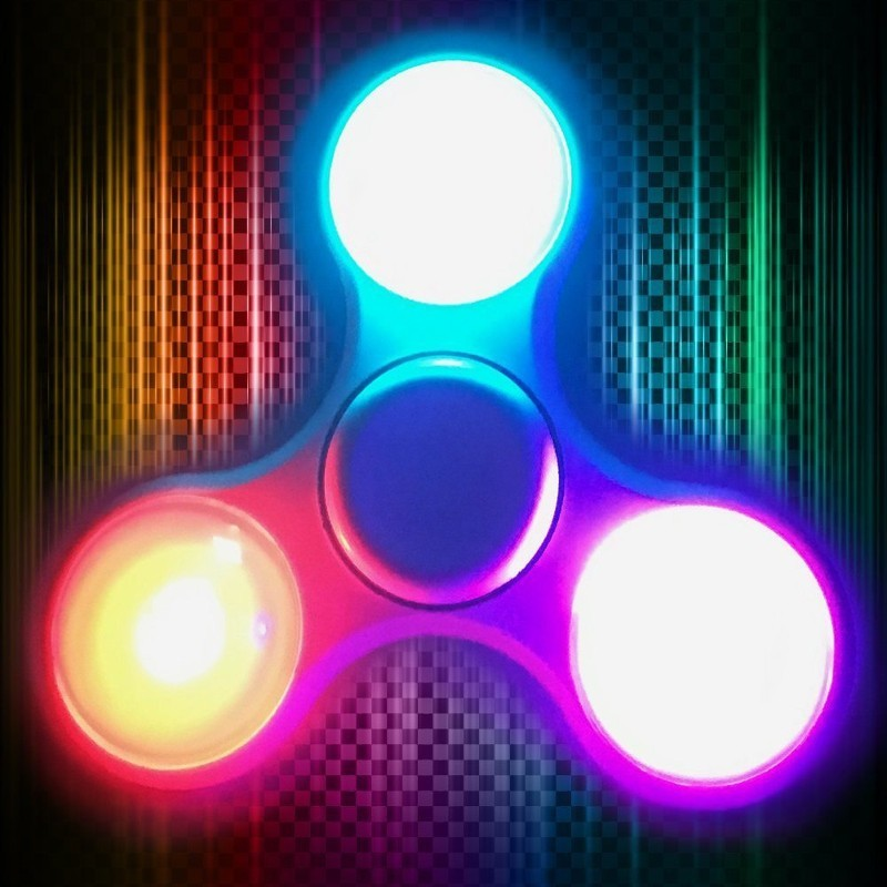 Gyro Fidget Spinner LED