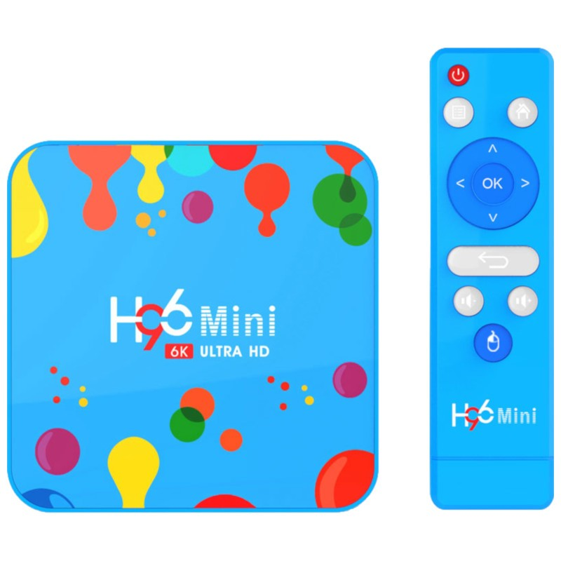 H96 Mini H6 4GB/32GB Android 9 - AndroidTV