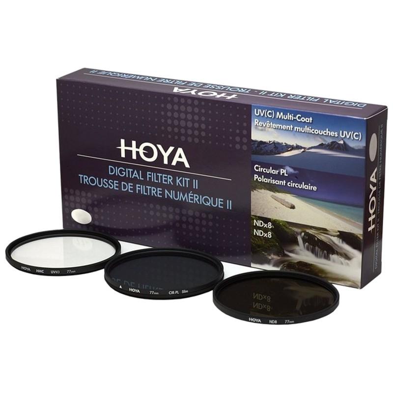 Hoya Digital Kit Filtro II 58mm - Kit de filtros para câmara