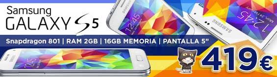 Ir Samsung Galaxy S5 Blanco