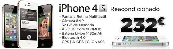 iPhone 4S Reacondicionado