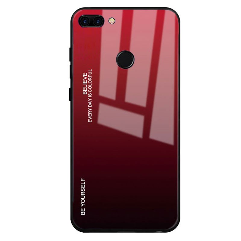 wholesale dealer fd43a 3a800 Huawei Honor 9 Lite Premium Protection Red Sunset Cover