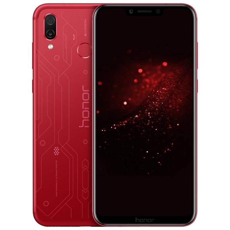 Huawei Honor Play 4GB/64GB DS Player Edition Rojo