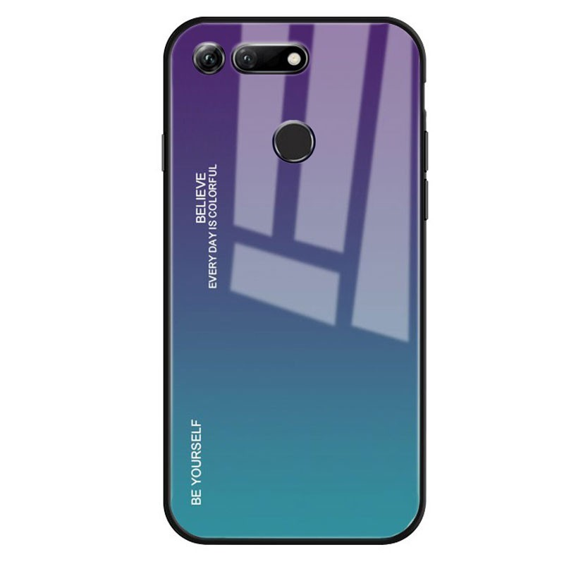 Funda Premium Protection Iridiscent Blue para Huawei Honor View 20