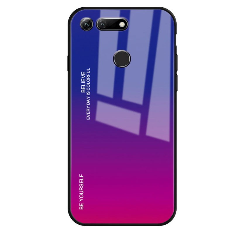 Huawei Honor View 20 Premium Protection Twilight Aurora Cover