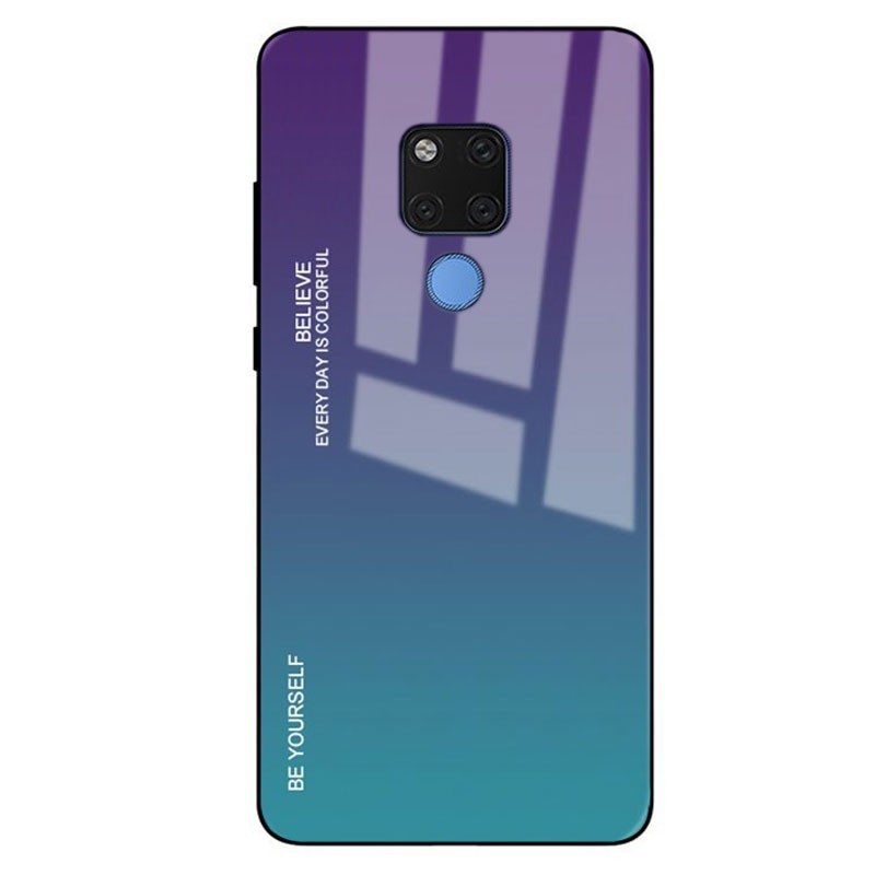 Funda Premium Protection Iridiscent Blue para Huawei Mate 20