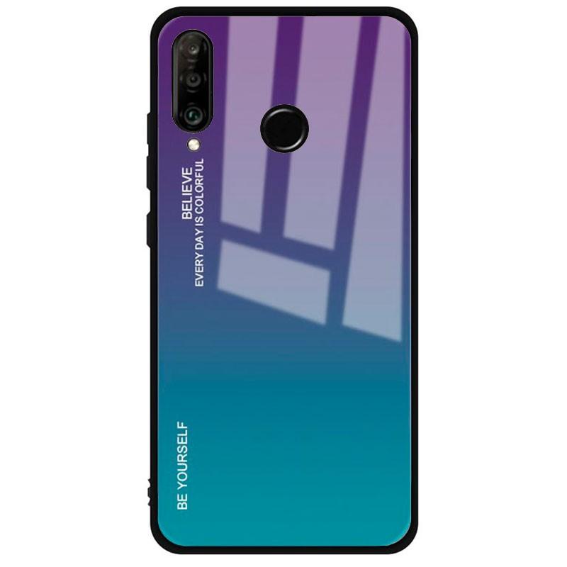 Funda Premium Protection Iridiscent Blue para Huawei P30 Lite