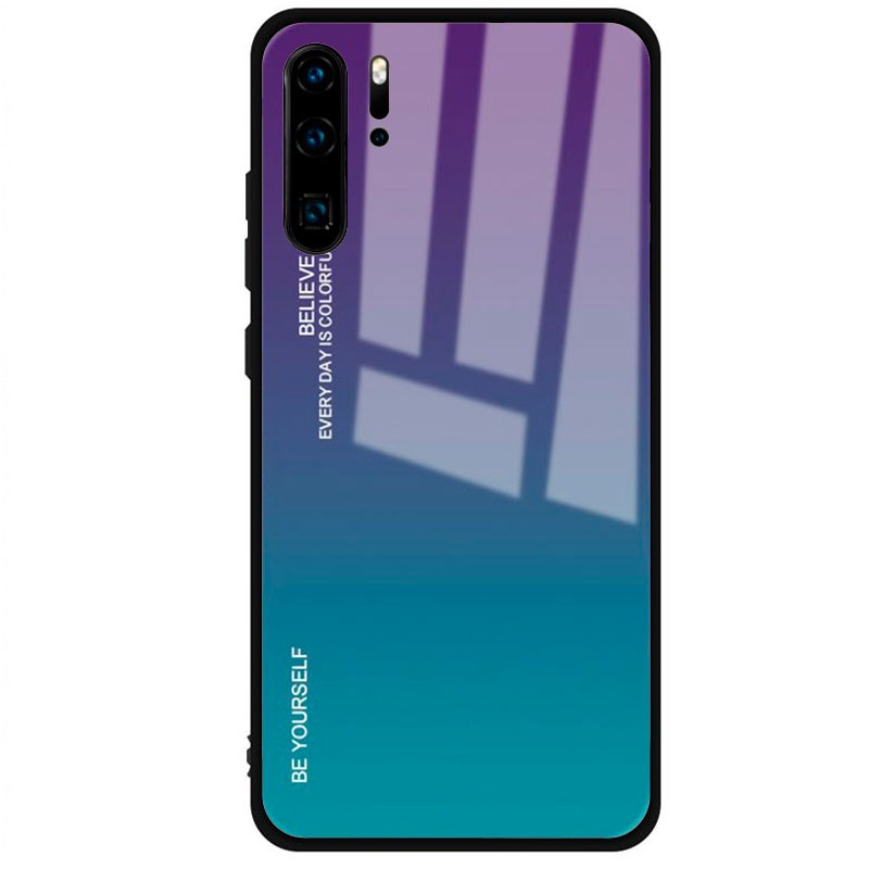 Funda Premium Protection Iridiscent Blue para Huawei P30 Pro