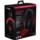 HyperX Cloud II Gaming Vermelho - Cor preta e vermelha - Almofadas de espuma de espuma de memória confortáveis com faixa de cabeça acolchoada de couro macio - Item5