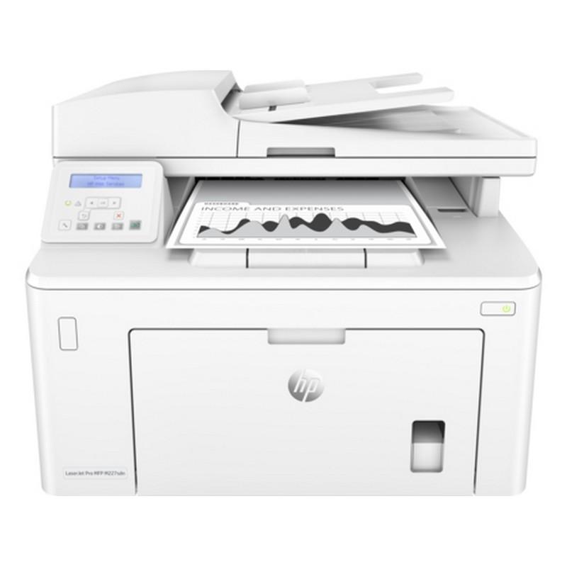 Multifunción Láser Monocromo HP PRO M227SDN - Color Blanco, impresora láser, ahorro de consumo