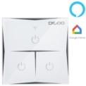 Interruptor inteligente x3 DIGOO DG-S601 Wifi Alexa Assistant Google