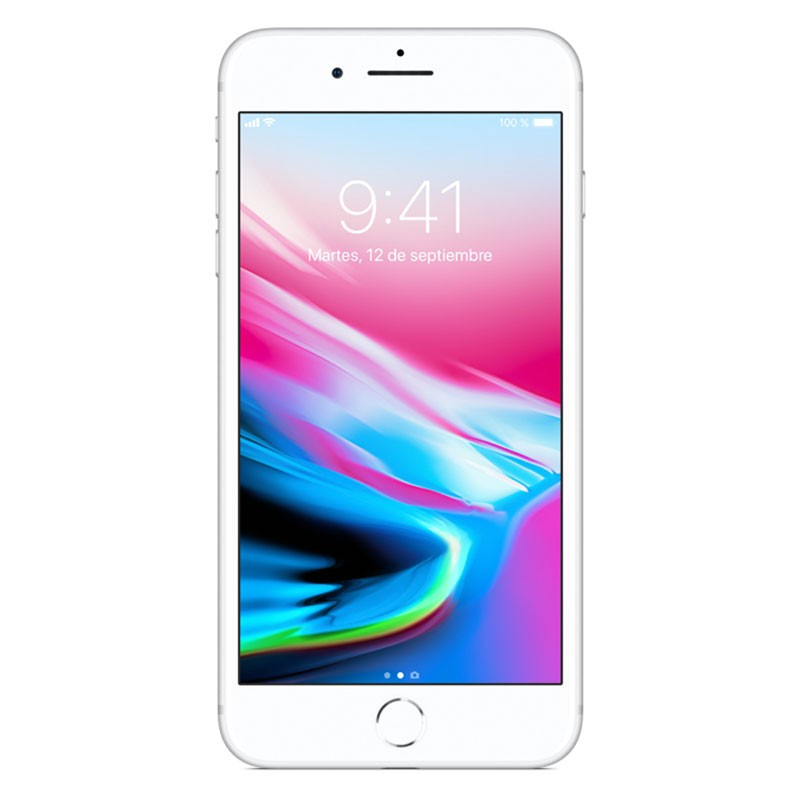 Apple iPhone 8 Plus 64GB Plata Como Nuevo