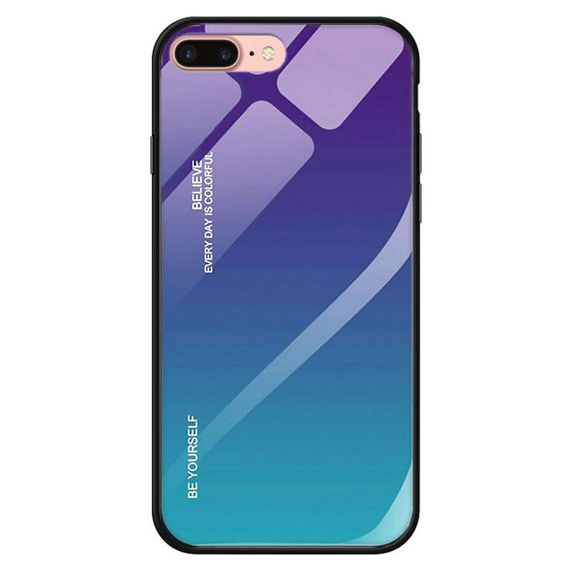 Capa Premium Protection Iridiscent Blue para Iphone 8 Plus