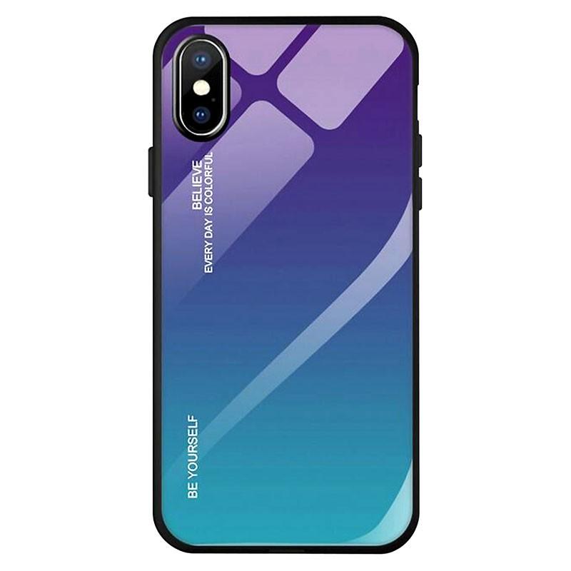Funda Premium Protection Iridiscent Blue para Iphone X
