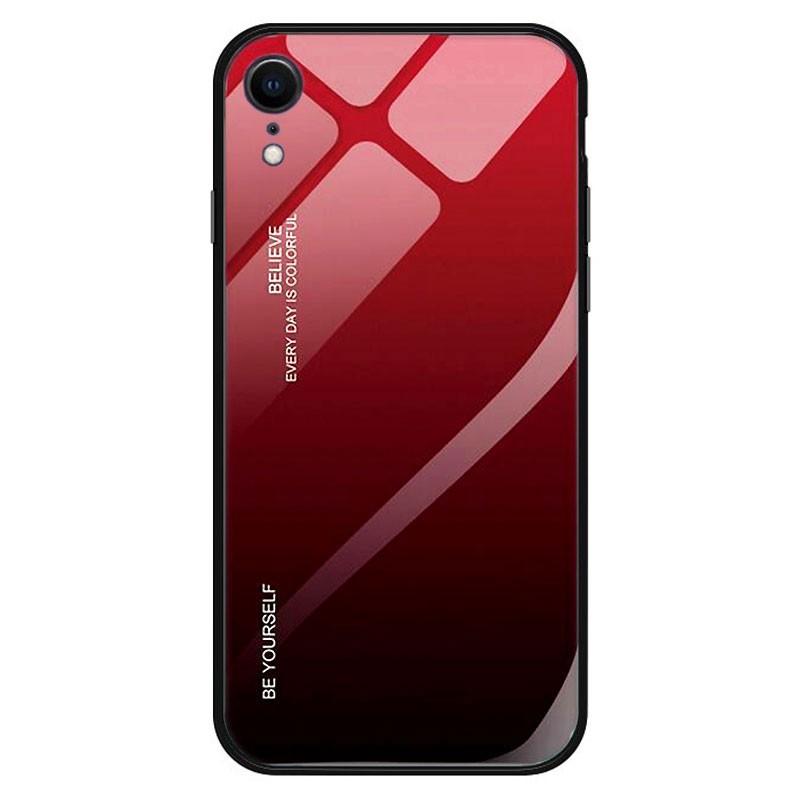 Funda iPhone XR Olixar Soft Silicone - Roja