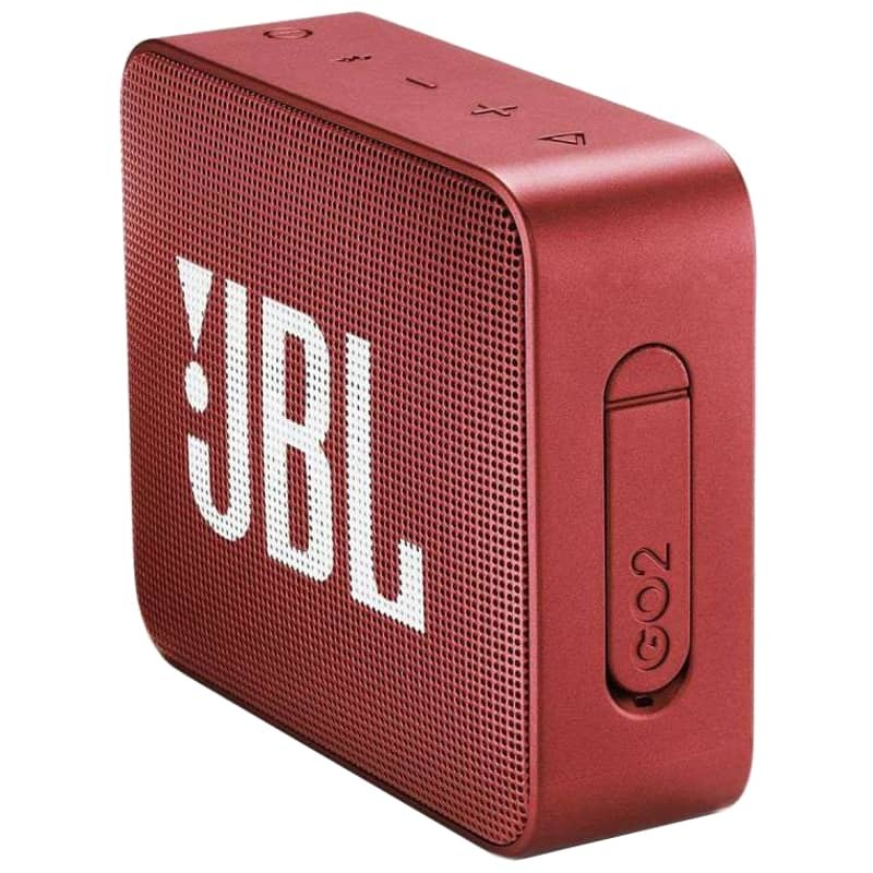 Jbl Go 2 Red Bluetooth Portable Speaker 24 Shipping
