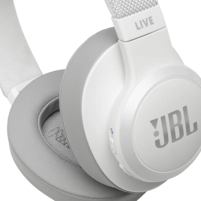 Jbl Live 500bt White Bluetooth Headphones Experience High Quality Sound Try Jbl Live 500bt