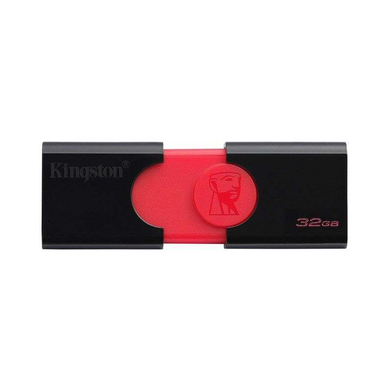 Kingston DataTraveler 106 32 GB USB 3.1 Negro Rojo