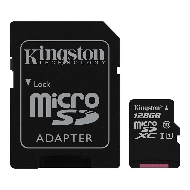 Tarjeta Memoria Kingston Technology microSDXC 128GB