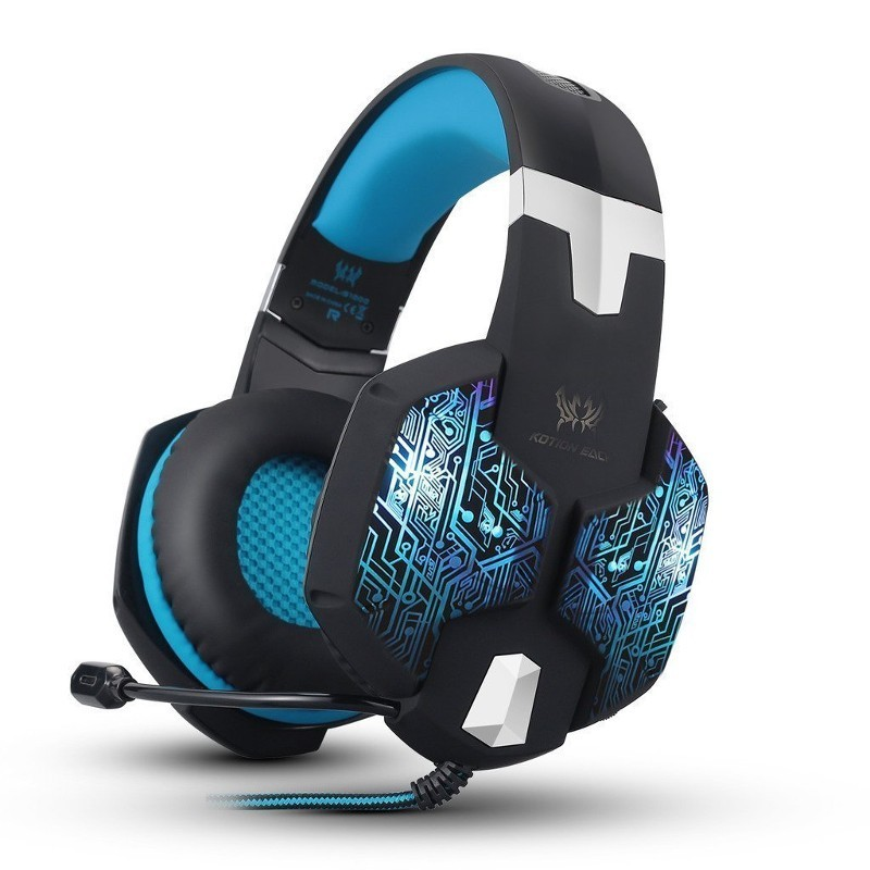 Kotion Each G1000 USB Blue - Auriculares Gaming