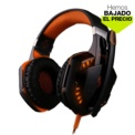 Auriculares Gaming Kotion Each G2000 Naranja