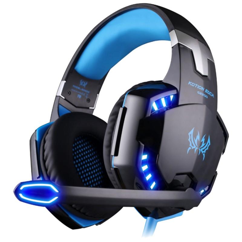 Kotion Each G2200 USB Azul - Auscultadores Gaming