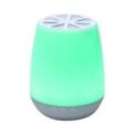 Lámpara LED Inteligente con Altavoz DB-139 - Color blanco - Iluminación RGB - Altavoz 3W - Ajustar Brillo - Ajustar Calidez - Encendido y Apagado Automatizado - Diseño Transportable - Bluetooth 4.0