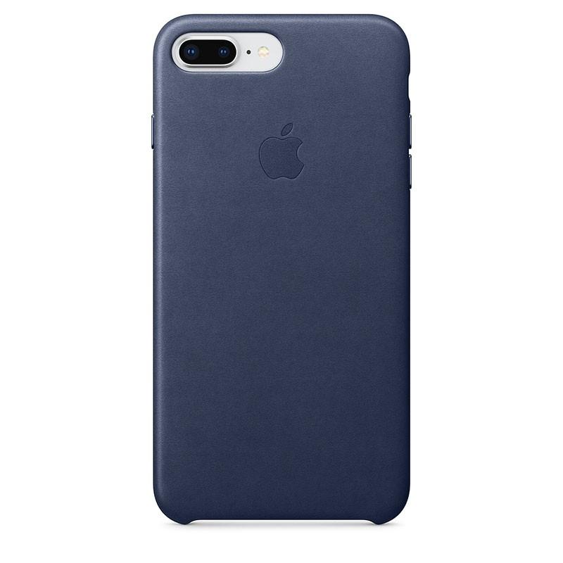 Funda Leather Case para el iPhone 8 Plus y iPhone 7 Plus en color Azul Noche